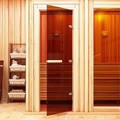 Двери для бани и сауны в магазине Магия Огня